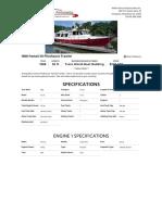 1988 Fantail 50 Pilothouse Trawler - 5917755
