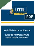 cursos de fortalecimiento como estudiar en la MAD