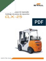 0100110-Catalogo de Peças CLX25 Rev04