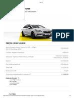 Opel Astra Sports Tourer _ Configurator _ Opel România