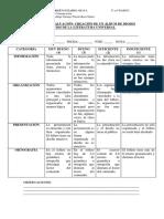 Rúbrica de Evaluación 5 y 6