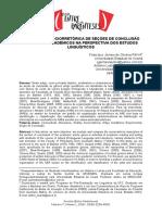 Uma Análise Sociorretórica de Seções de Conclusão de Artigos Acadêmicos Na Perspectiva Dos Estudos Linguísticos