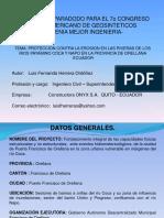 Proteccion de Riberas Con Geobolsas y Geocontenedores