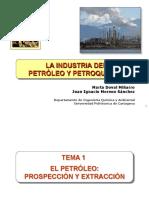 Tema 01. El Petróleo Prospección y Extracción