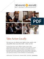 Take Action Locally 1:3:19