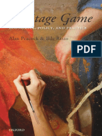 Alan Peacock, Ilde Rizzo the Heritage Game Economics, Policy, And Practice