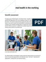 BAuA - Project Mental Health in the Workplace - Federal Institute for Occupational Safety and Health