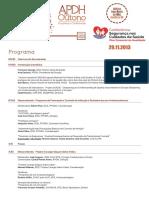Programa Conferencia