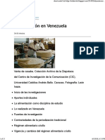 Alimentación en Venezuela
