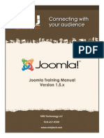 Joomla Training Manual