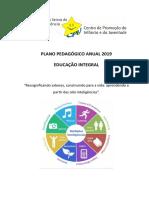 PPA Educação Integral 2019 - Faixa Etária 9 a 13