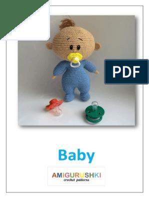 Amigurumi bambola Lol.... Primo step - YouTube | Bonecas de crochê ... | 396x298