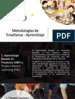 Metodologías de Enseñanza-Aprendizaje