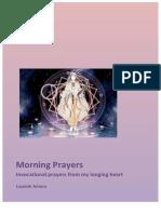 Daily Practice Morning Prayers Nov 2017 by Leyolah Antara eBook