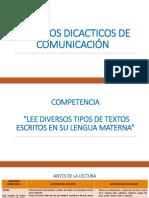 Procesos Didacticos de Comunicación