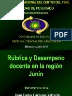 Rubrica Des Doc 2015