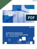 Reta Final PRF - Geopolítica Brasileira - Aula 05