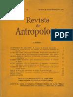 Revista de Antropologia. Linguas Tupi