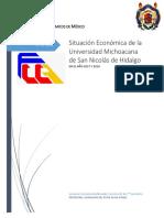 Situación Económica de La Universidad Michoacana de San Nicolás de Hidalgo