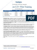 Citation CJ3+ Pilot Training