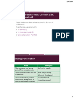 1. Punctuation and Mechanics 1