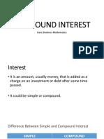 Gm- Compound Interest