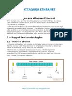 Les Attaques Ethernet