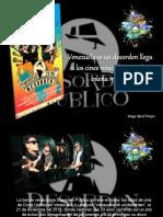 Diego Ricol Freyre - Venezuela es un desorden llega a los cines venezolanos a dar buena música