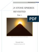 Bosnian Stone Spheres Revisited A