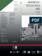 Administración y Tecnología Para El Diseño