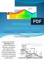 El agua en el suelo y permeabilidad