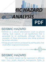 Seismic Hazard Analysis