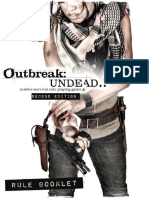 Outbreak Undead 2nd Edition - Pocket Book