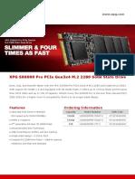 Pc Build Datasheet XPG SX6000 Pro en 20180829 2 SSD