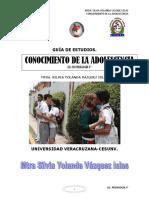 GUIA DE CONOCIMIENTO DE LA ADOLESCENCIA PED 3°