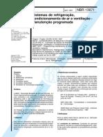 NBR 13971  - Sistemas de refrigeração, condicionamento de ar e ventilação - Manutenção Programada.pdf