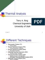 Kuliah Thermal Analysis
