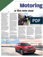 Motoring - 13 January 2019