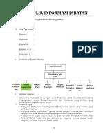 Formulir Informasi JFU Pengad. Kepegawaian Upt Ok