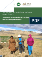 The Livestock and Agricultural Marketing Project (LAMP)