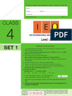 Ieo Level2 Class 4 Set 1