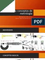 Definición y Conceptos de Metrología