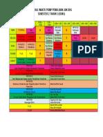 Timetable Sem 6