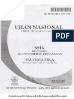 Contoh Soal UN Matematika SMK kelompok Akuntansi dan Pemasaran.pdf