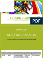 Lesson Learnt (Final)