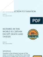 01 Introduction to Taxation