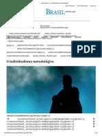 Mises Brasil - O Individualismo Metodológico