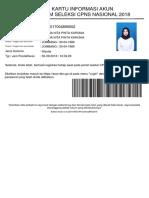 2 Format Surat Pernyataan Masa Bakti
