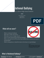 relational bullying presentation