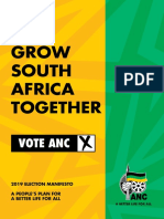 ANC 2019  election manifesto